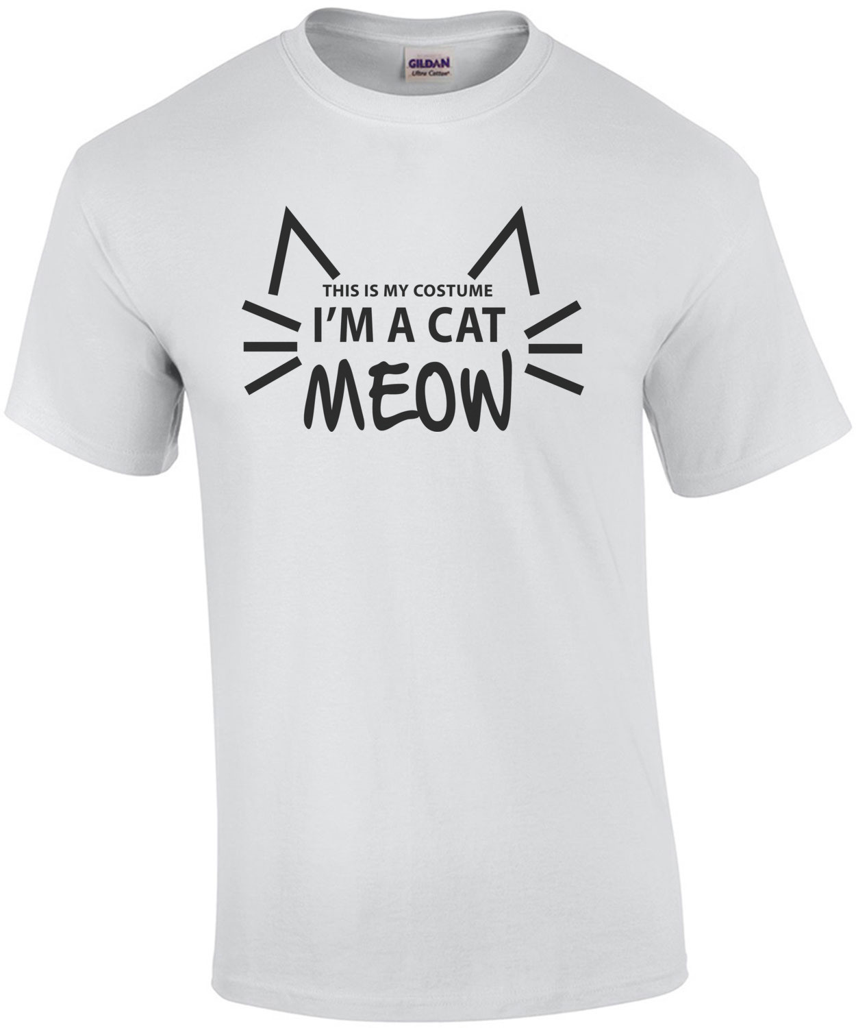 This is my costume - I'm a cat Meow - T-Shirt