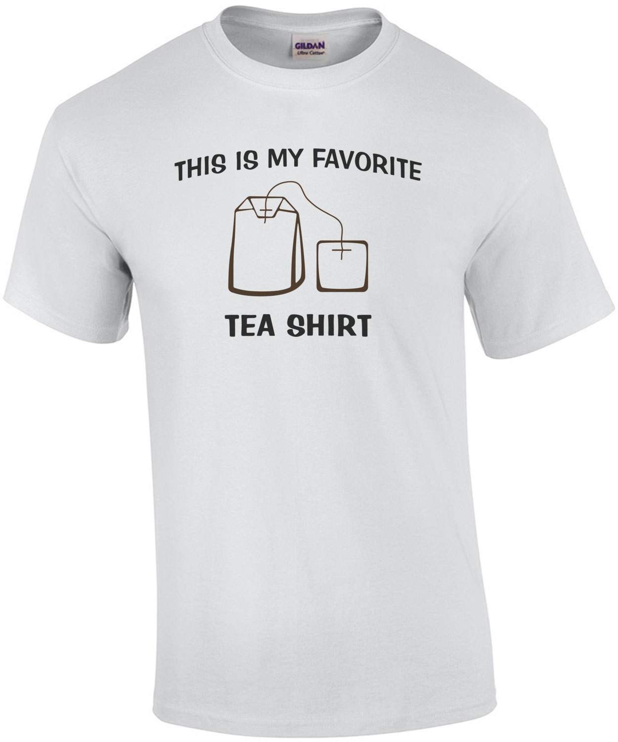 This Is My Favorite Tea Shirt - Funny Pun Shirt