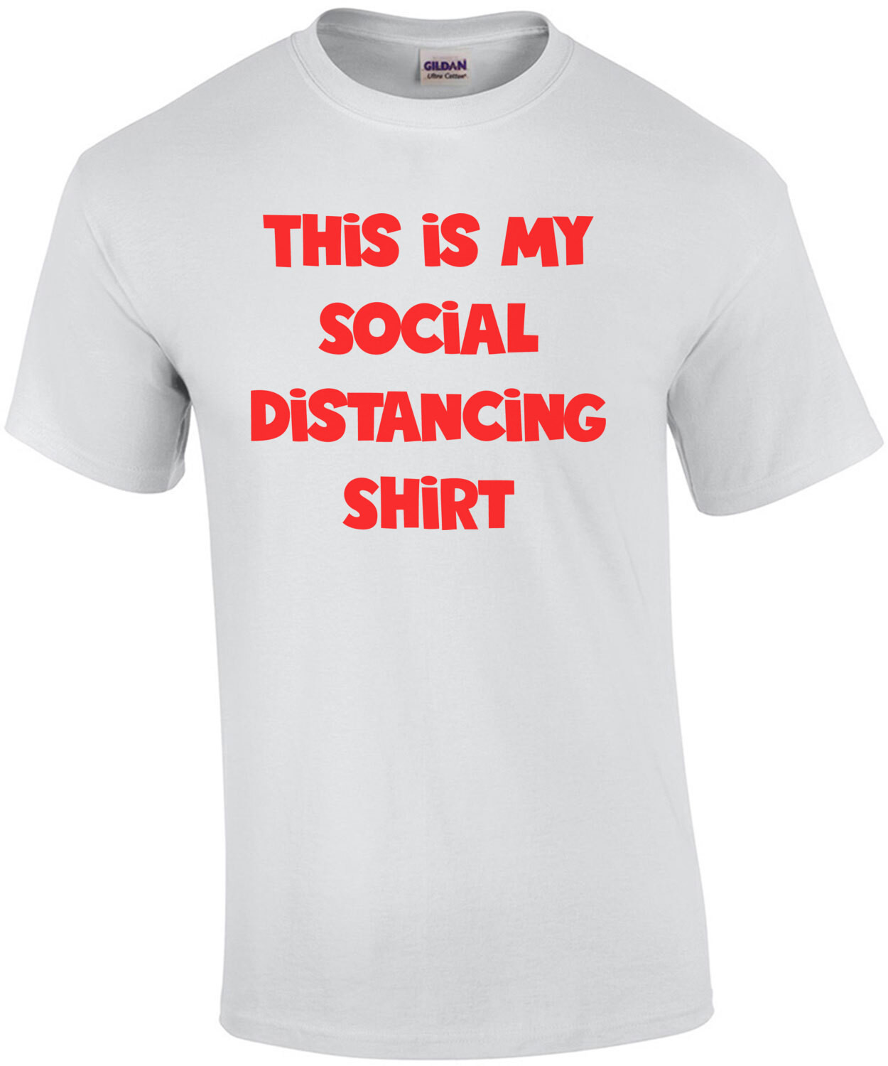 This is my Social Distancing Shirt  Funny Coronavirus Tee