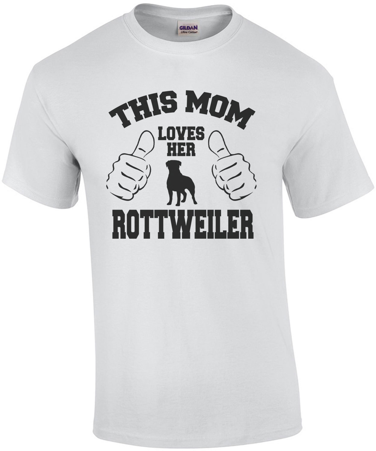 This Mom Loves Her Rottweiler T-Shirt