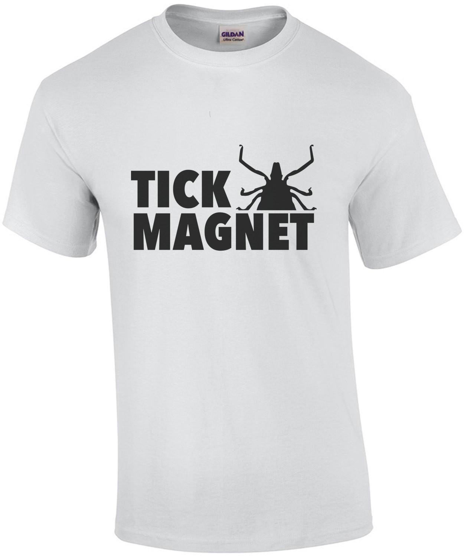 Tick Magnet - camping t-shirt