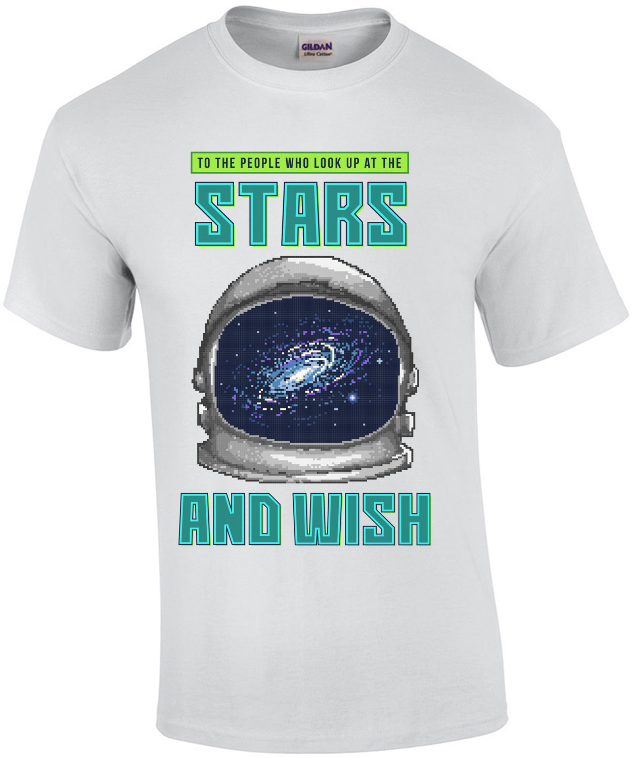 To The People Who Look Up At The Stars And Wish Retro T-Shirt