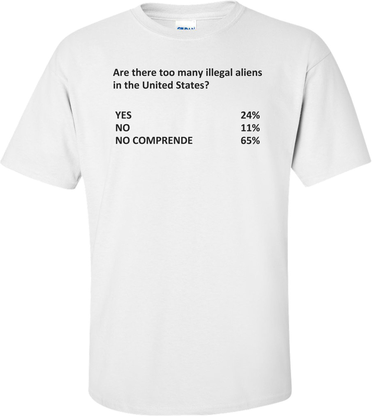 Too Many Illegal Aliens Shirt