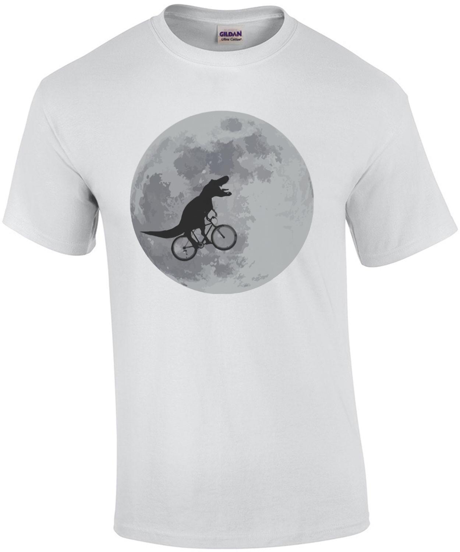 T-Rex - Tyrannosaurus rex bicycle moon T-Shirt