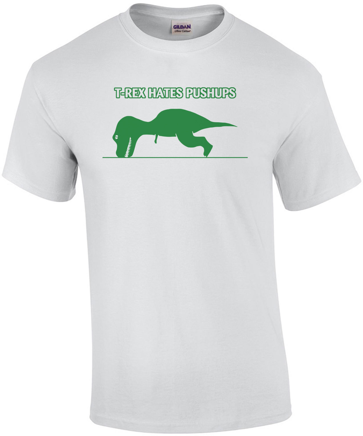 T-rex Hates Pushups Funny Kid's T-shirt