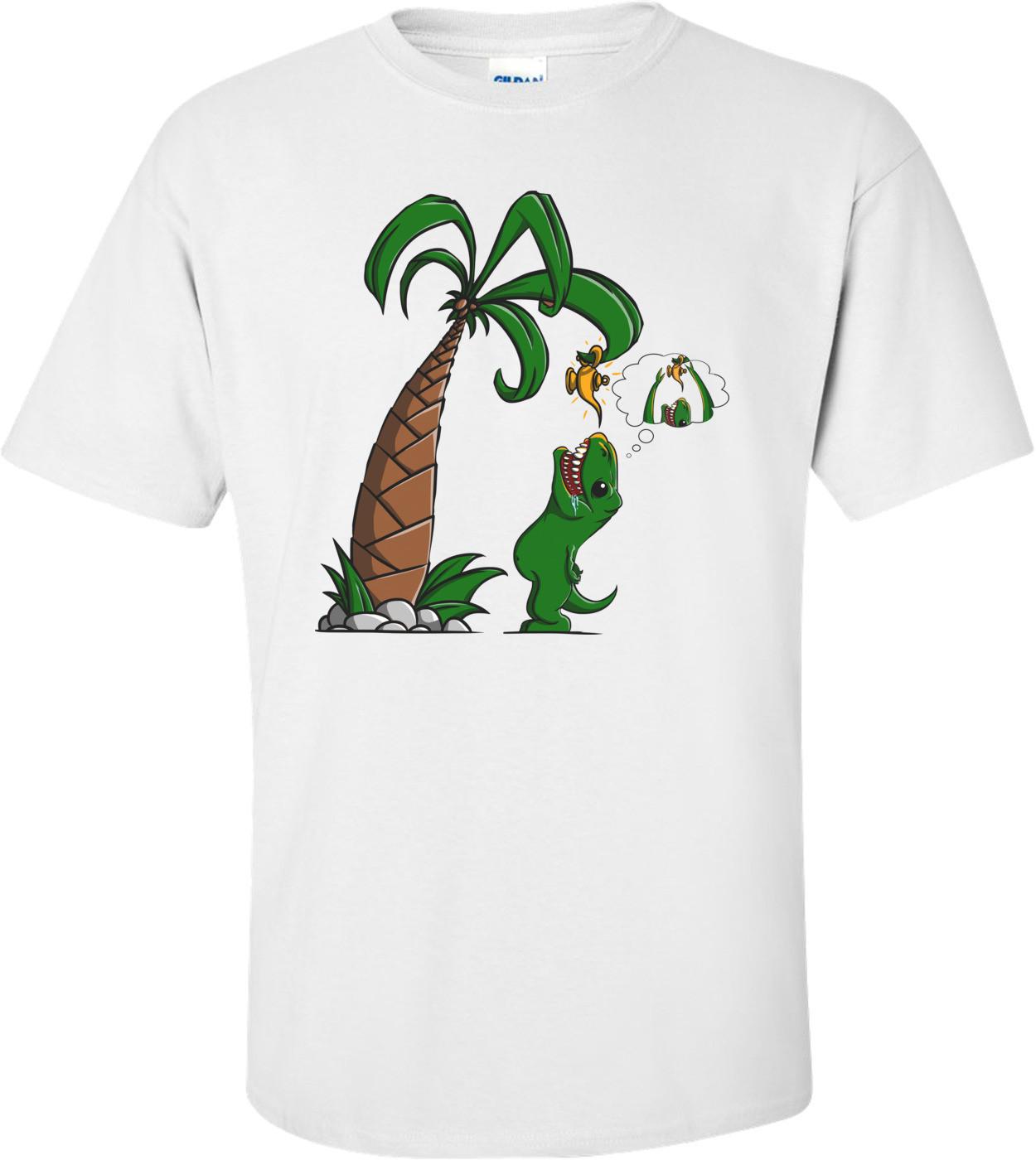 T-rex Wants To Make A Wish Shirt