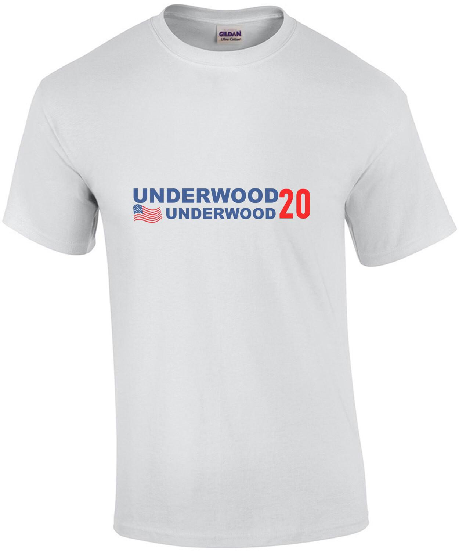 Underwood Underwood 2020 - House of Cards T-shirt