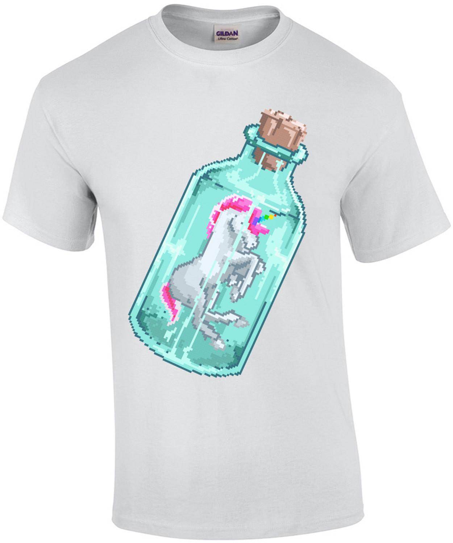 Unicorn In A Bottle Cute T-Shirt