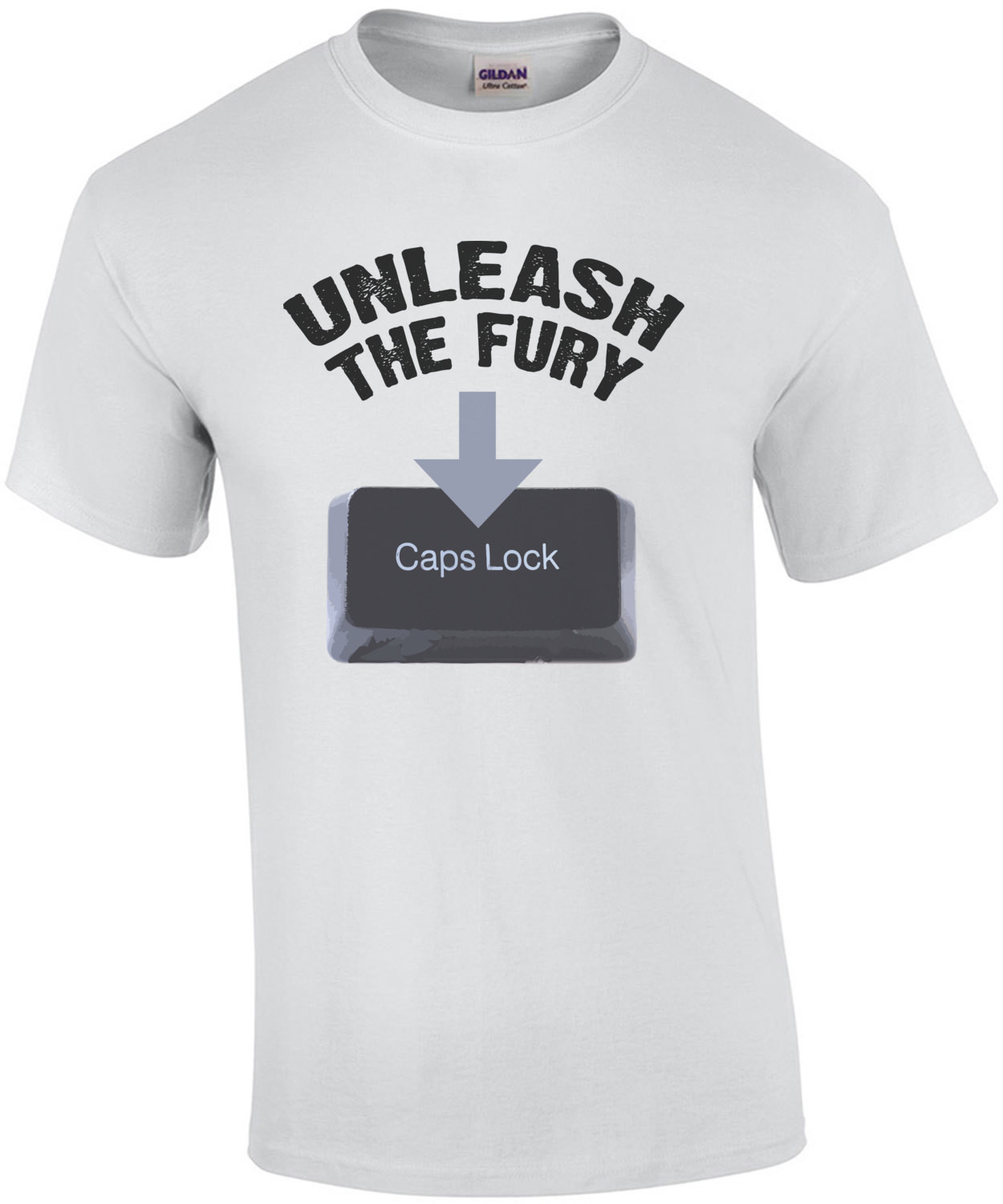Unleash the fury - funny t-shirt
