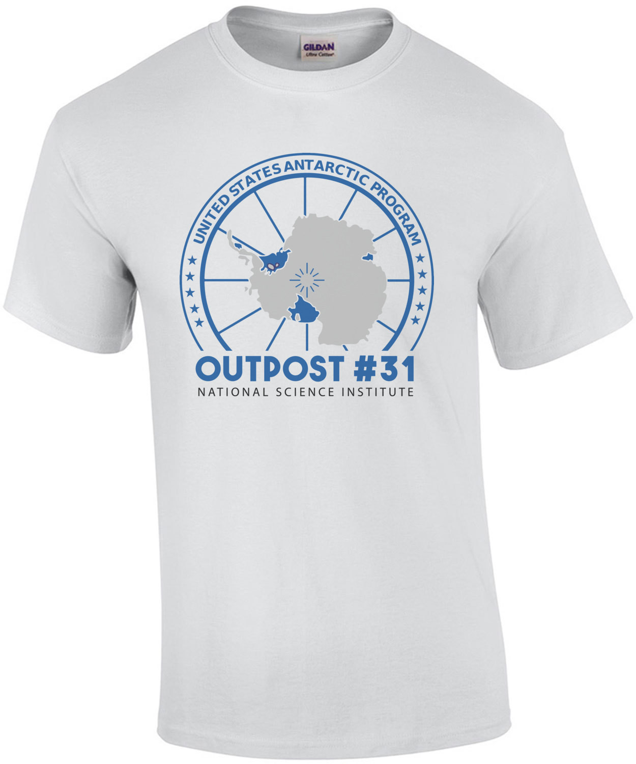 U.S. Antarctica Research Program - Outpost 31 - The Thing T-Shirt