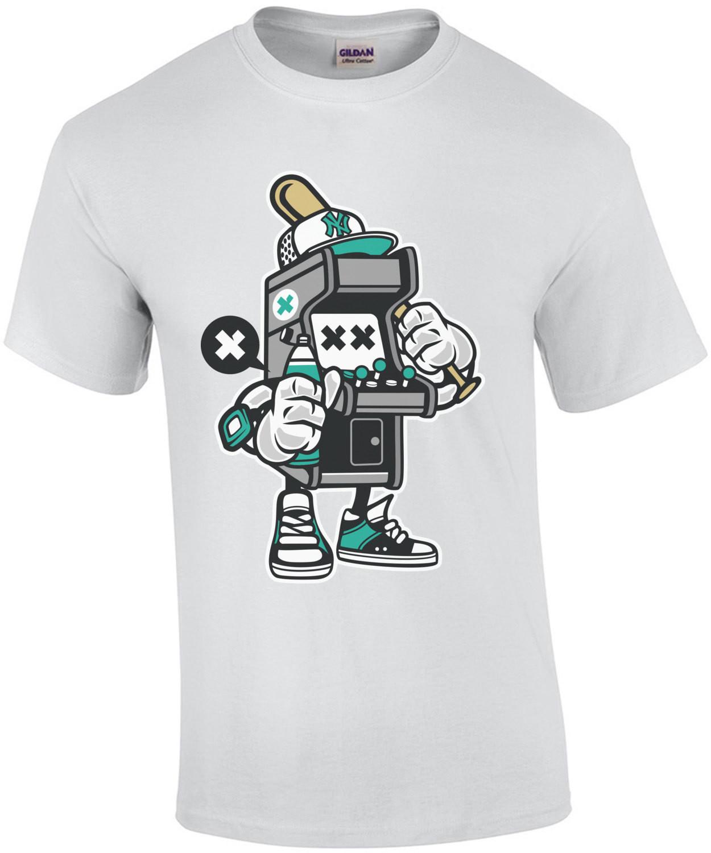 Vintage Gangsta Arcade Machine T-Shirt