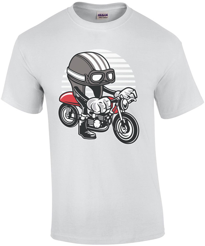 Vintage Motorcycle Racer T-Shirt