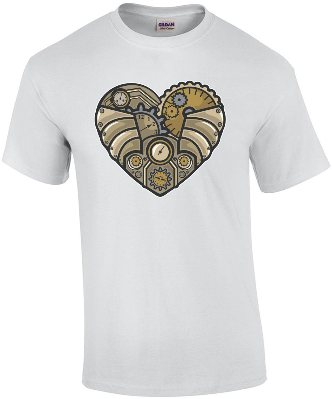 Vintage Steampunk Heart T-Shirt
