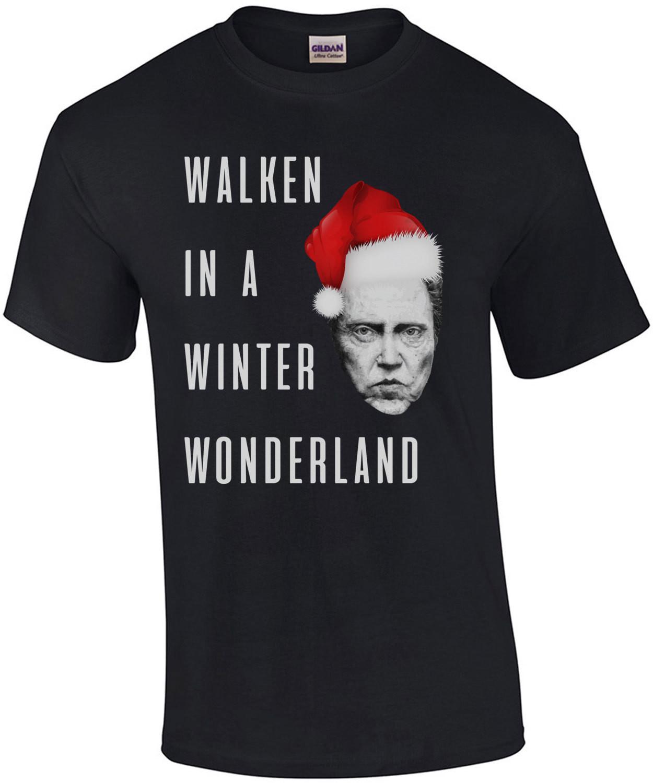 Walken in a winter wonderland - Christopher Walken - Christmas T-shirt