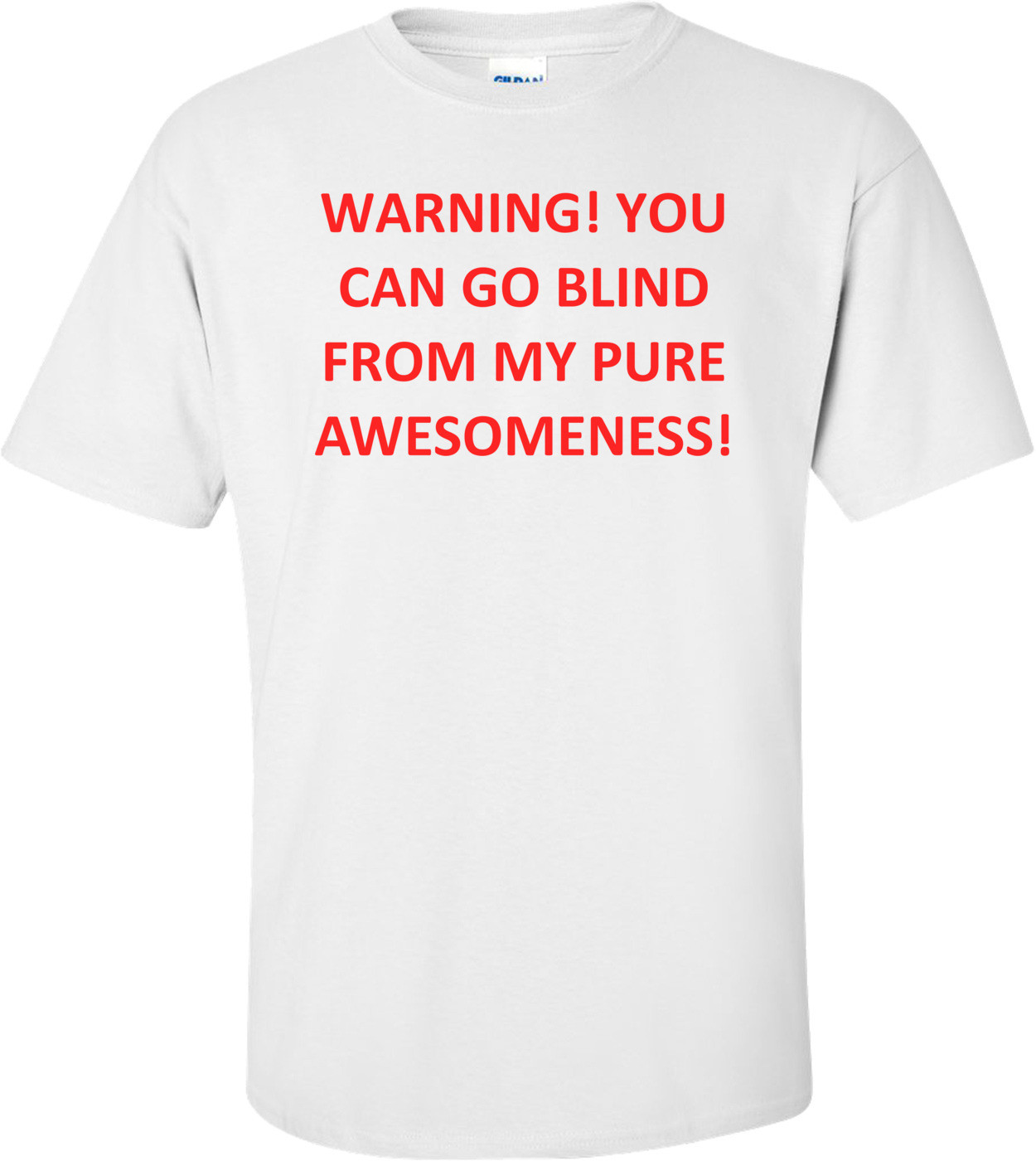 WARNING! YOU CAN GO BLIND FROM MY PURE AWESOMENESS! Shirt