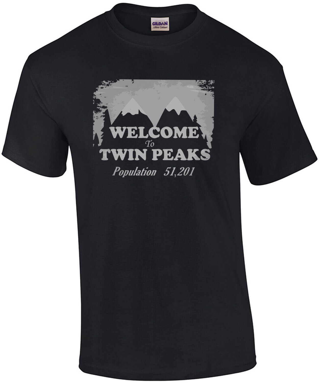 Welcome to twin peaks - Twin Peaks - 90's T-Shirt