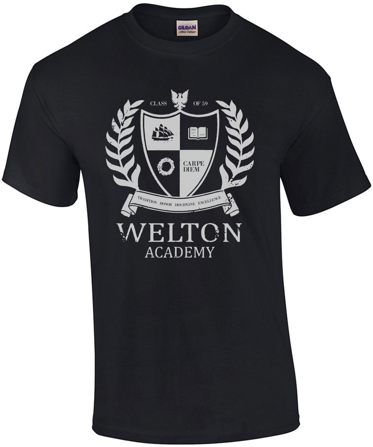 Welton Academy - Dead Poet's Society - 80's T-Shirt