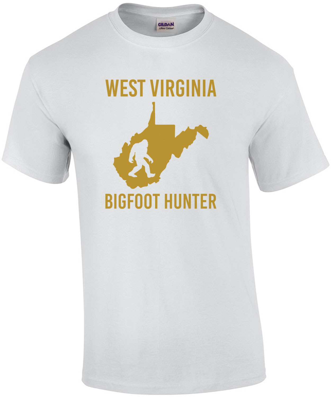 West Virginia - Bigfoot Hunter - West Virginia T-Shirt