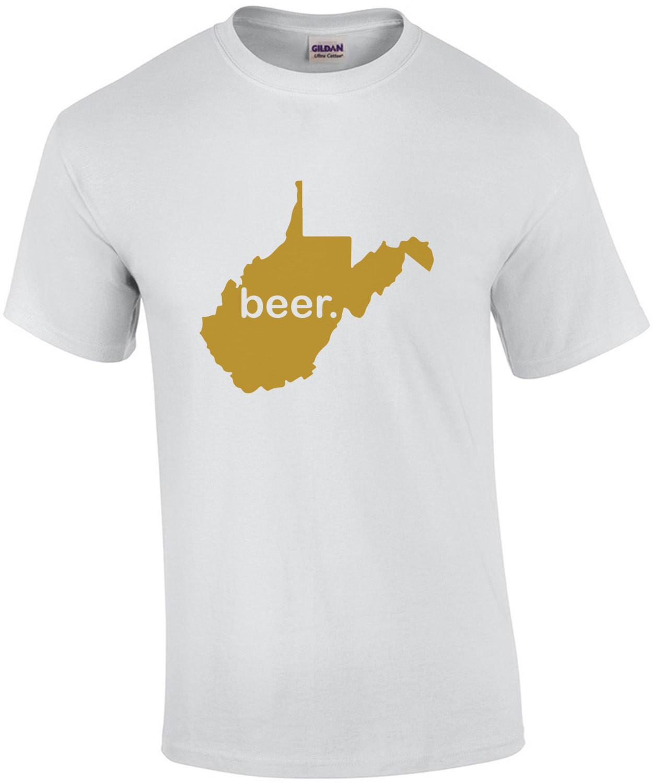 West Virginia Beer - West Virginia T-Shirt