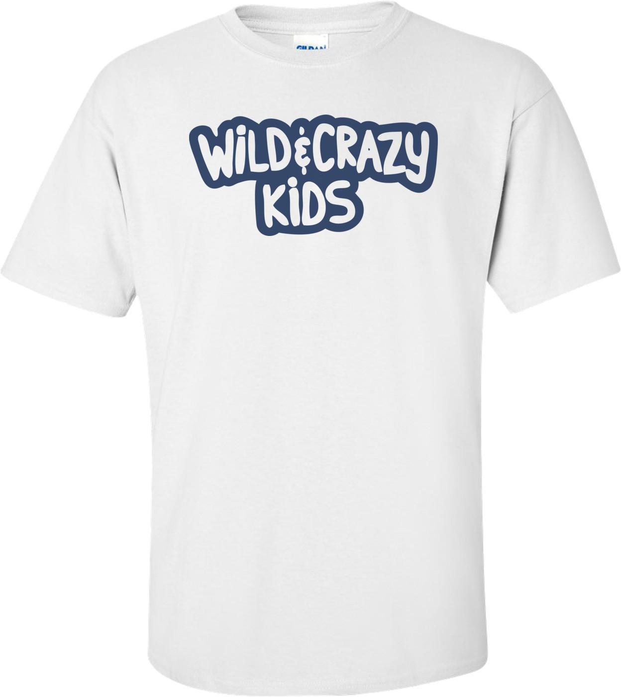 Wild And Crazy Kids - Nickelodeon T-shirt