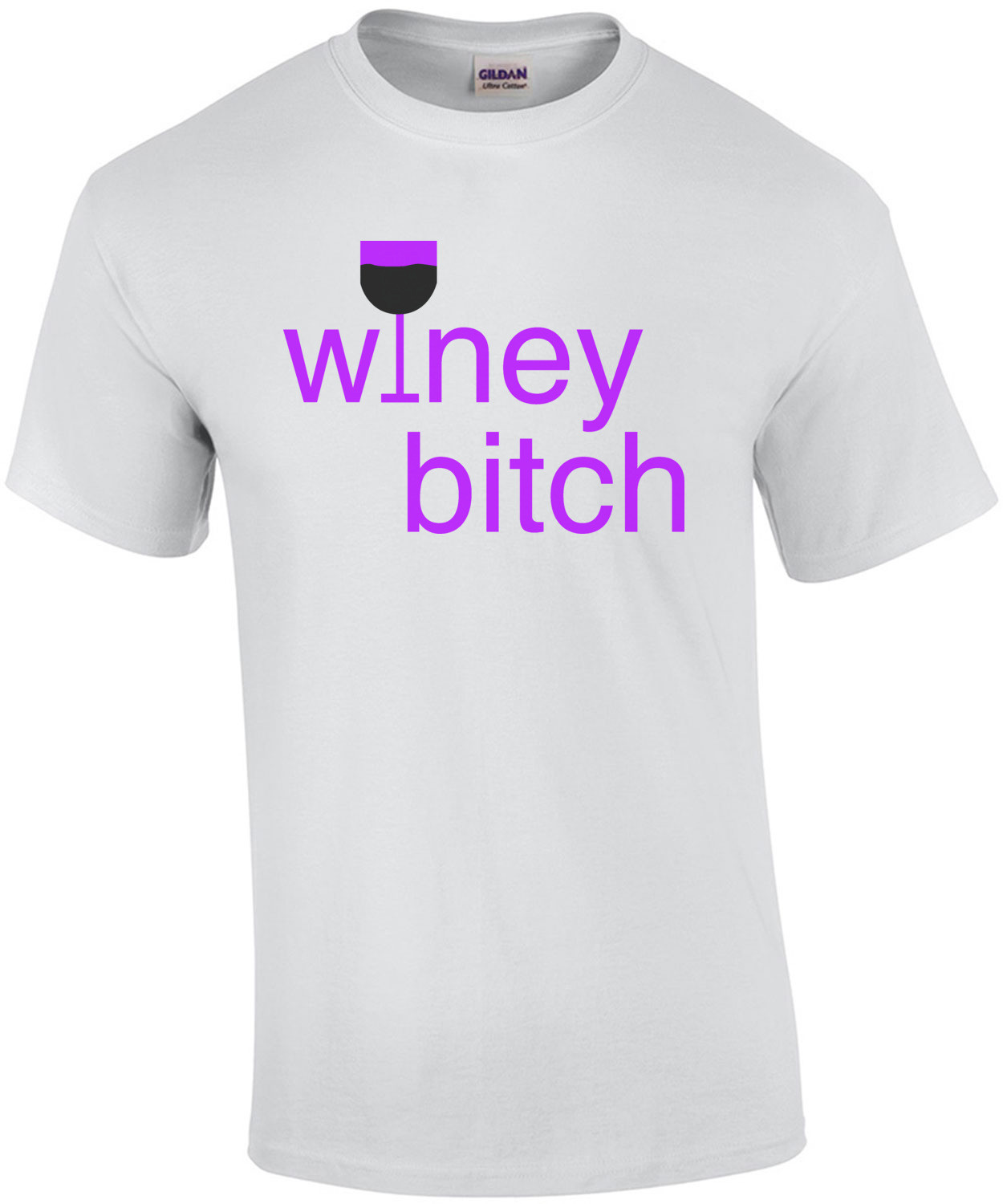 Winey Bitch - funny t-shirt