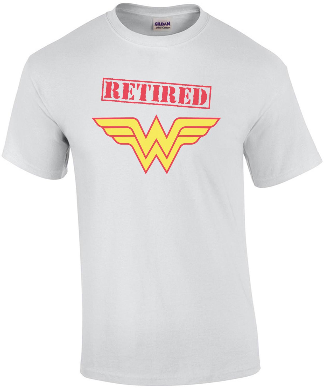 Wonder Woman Retired T-Shirt