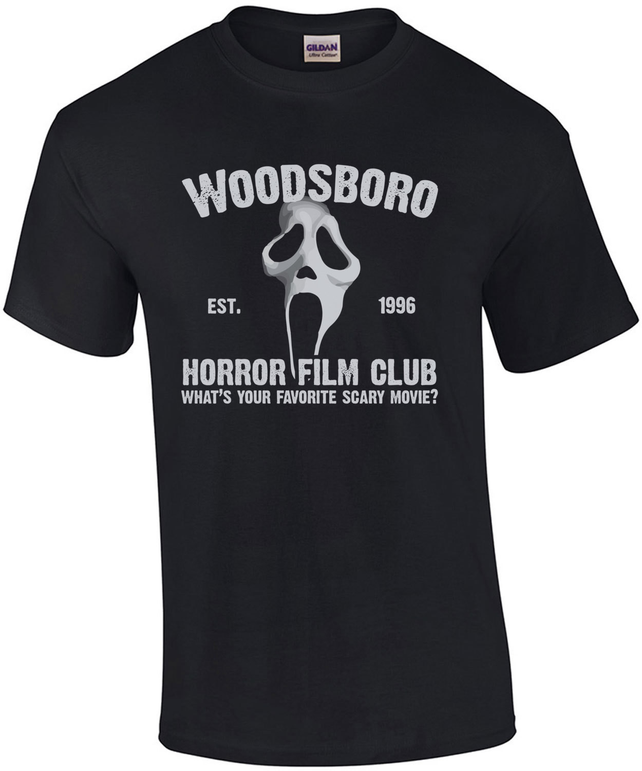 Woodsboro Horror Film Club - Scream T-Shirt