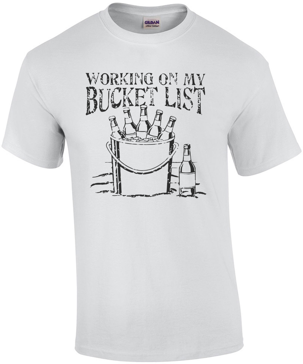 Working On My Bucket List T-Shirt