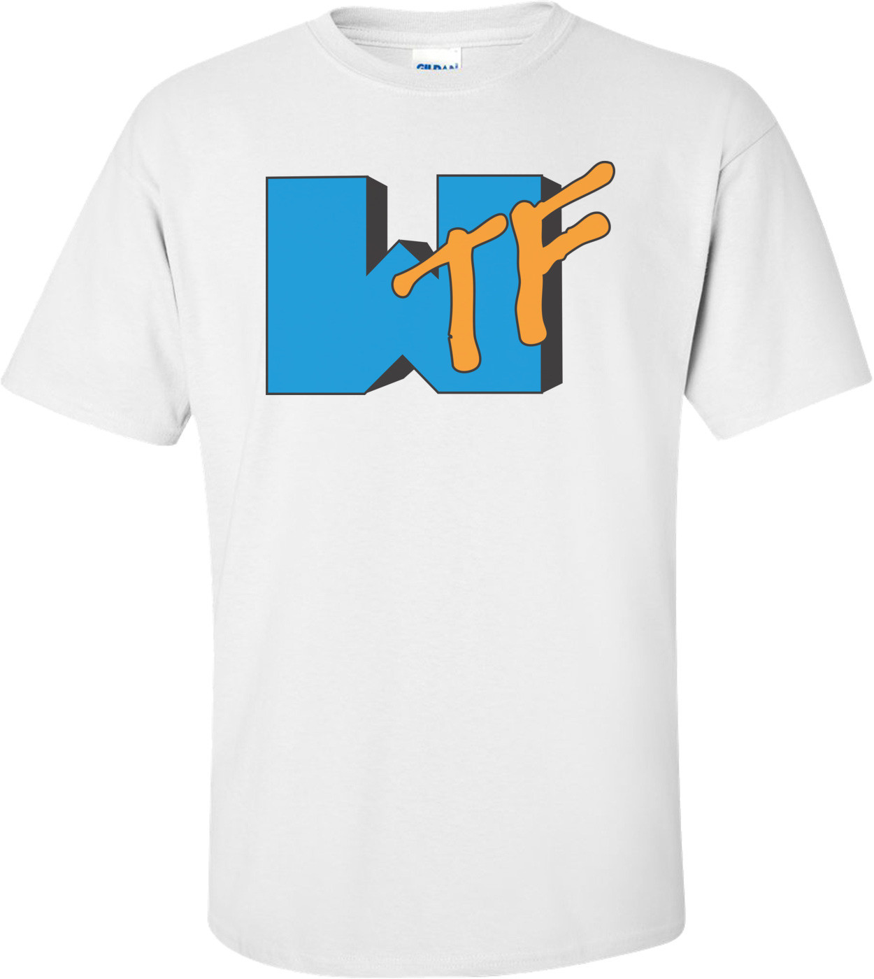 Wtf Mtv Spoof T-shirt