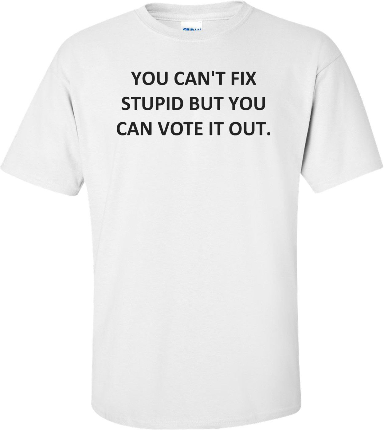 YOU CAN'T FIX STUPID BUT YOU CAN VOTE IT OUT. Shirt