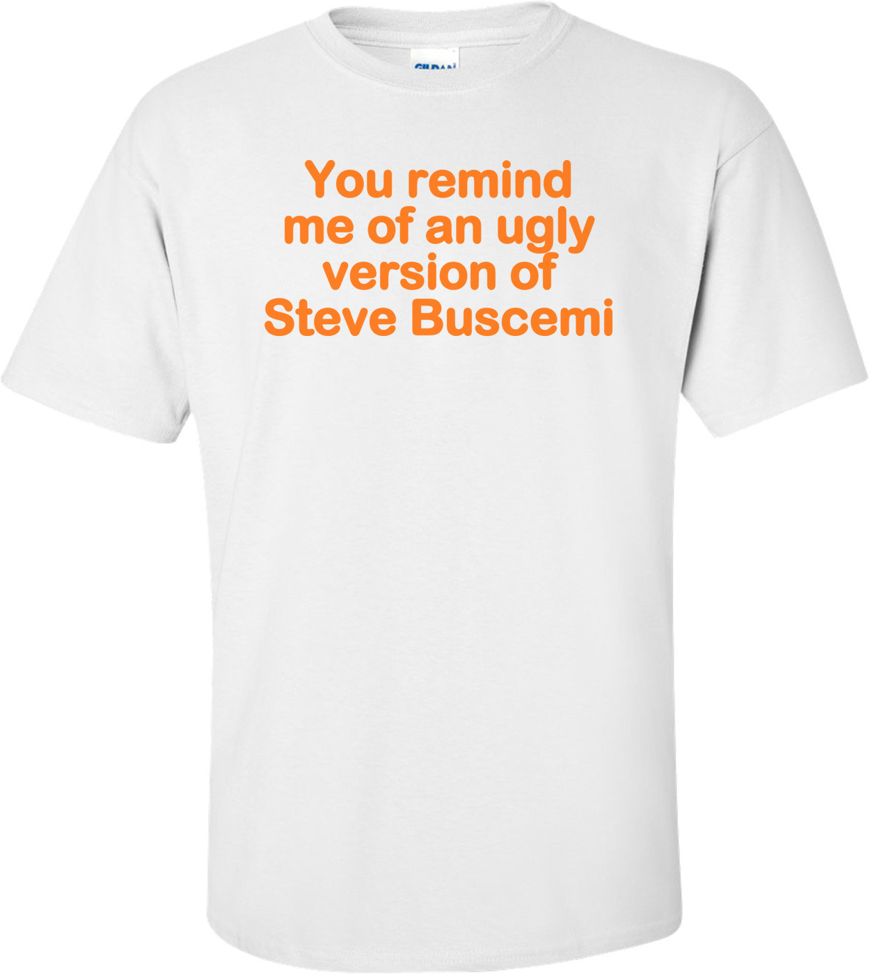 You Remind Me Of An Ugly Version Of Steve Buscemi! - Funny T-shirt
