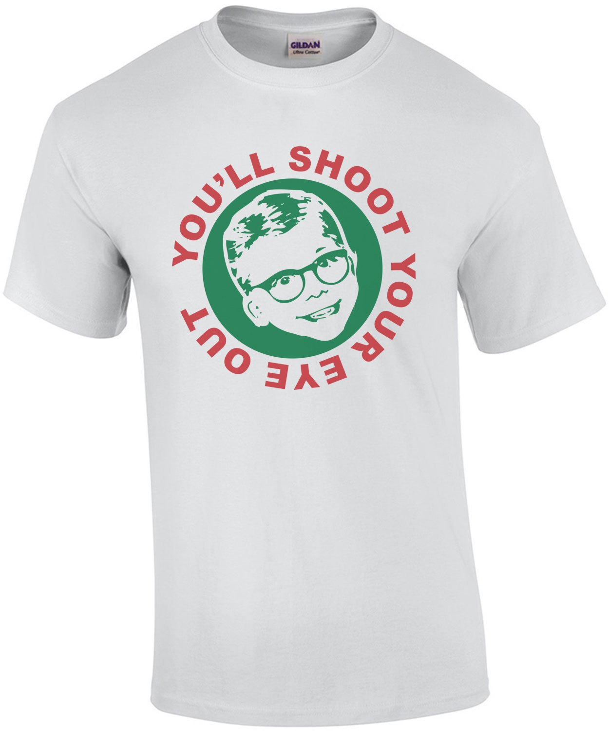 You'll Shoot Your Eye Out - Christmas Story Kids T-shirt