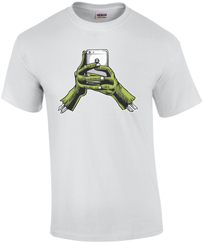 Zombie Phone Hands Horror T-Shirt