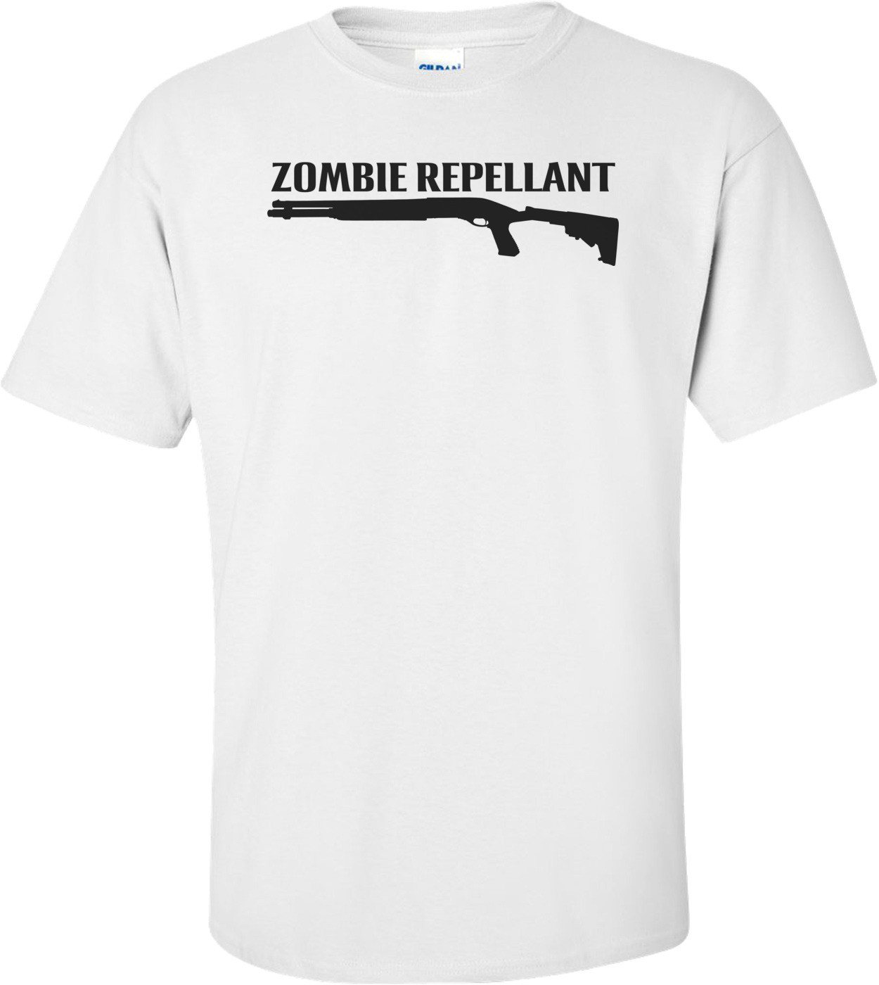 Zombie Repellant - Cool Zombie Shirt