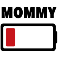 4dc77dcd1 Low Battery - Mommy - Family T-Shirt