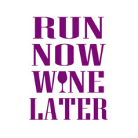 43fc77861ce7 Run Now Wine Later T-Shirt