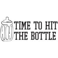 e555b5a9 ... Time To Hit The Bottle - Funny Baby T-Shirt; zxcvzxcvzxcvzxcvzxcvxz ...