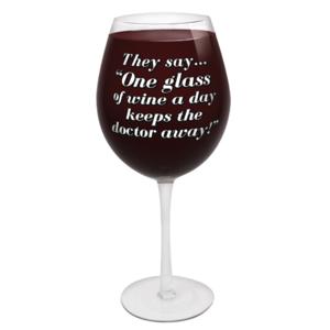World's Largest Wine Glass