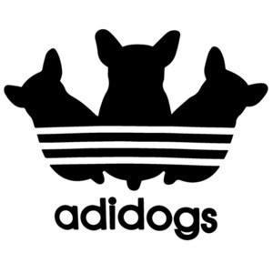 Adidogs - Funny Adidas Parody T-Shirt