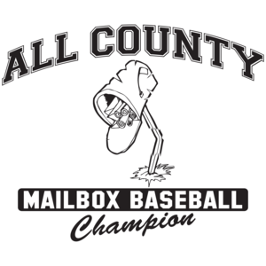 All County Mailbox Baseball Champion T-shirt