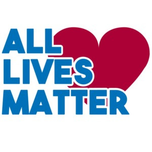 All lives matter - pro cop t-shirt
