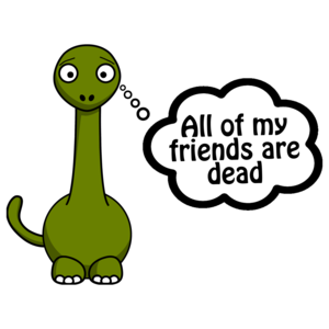 All My Friends Are Dead Dinosaur Shirt