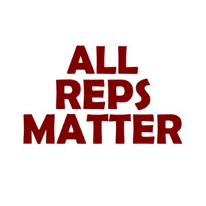 All reps matter - workout t-shirt