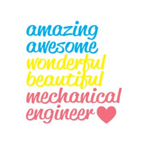 Amazing Awesome Wonderful Beautiful Mechanical Engineer T-Shirt