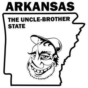 Arkansas - The uncle-brother state - Arkansas T-Shirt