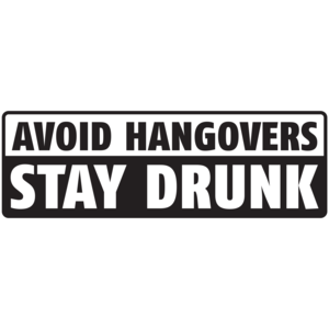 Avoid Hangovers Stay Drunk T-shirt