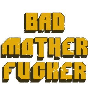 bad mother fucker - pulp fiction t-shirt