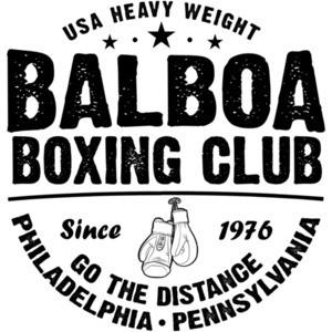Balboa Boxing Club - Rocky Balboa T-Shirt - Philadelphia Pennsylvania - 80's T-Shirt