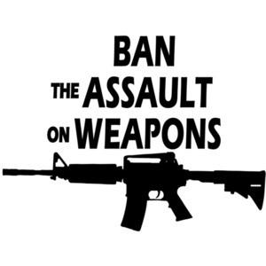 Ban the assault on weapons - Pro Gun T-Shirt