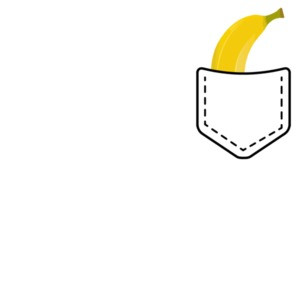 Banana In Pocket T-Shirt